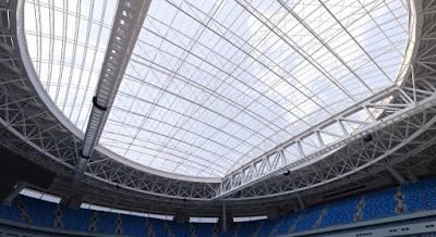 Resultado de imagem para cobertura Arena São Petersburgo